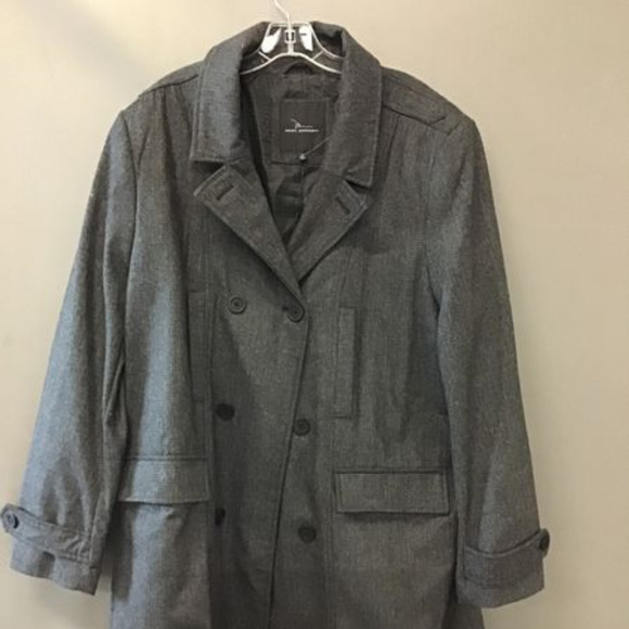 Marc Anthony Other - Marc Anthony Tweed Wool Pea Coat NWT